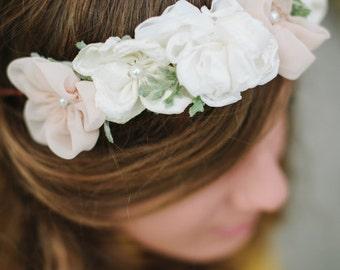 ASHELYN | Fabric Floral Crown