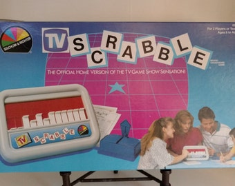 1987 TV Scrabble Selchow and Righter Company
