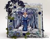 Handmade Greeting Card - Destiny Snowflake