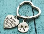 mom gift, mom birthday gift, mother of the bride gift, wedding gift for mom, love gift, mothers gift from daughter, mothers keychain