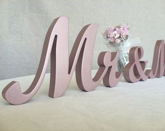 Mr AND. Mrs sign set. Wedding signs set mr and mrs. Wedding Signs for TOP TABLE. Stable Standing Mr and Mrs wedding signs