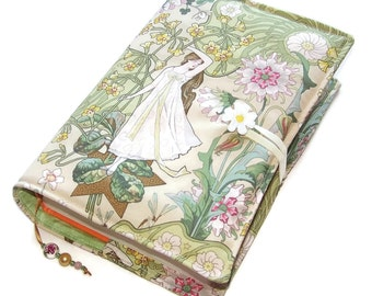 Large Bible Cover, Fabric Book Cover, Suitable for Hardback Books or Paperback books, Daisy Girl, UK Seller