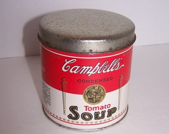 Campbell's® Soup Tin 1993 Metal Kitchen Storage Container