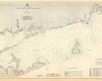 Eastern Part of Long Island Sound – 1887