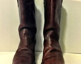Brown Utility Campus Boots