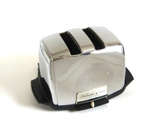 Sunbeam Vista Radiant Control Toaster VT-40 1 Vintage Chrome Sunbeam Toaster