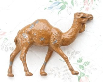 Lead Camel - Antique Zoo Animal - Iron Cast Toy Figurine