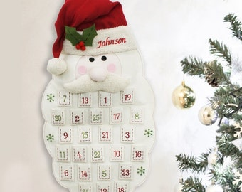 Embroidered Santa Advent Calendar -gfyE973591