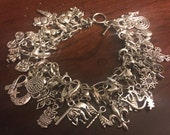 Divination Charm Bracelet Oracle with Divinations Sheets