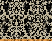 Keys - Damask by Whistler Studios from Windham Fabrics