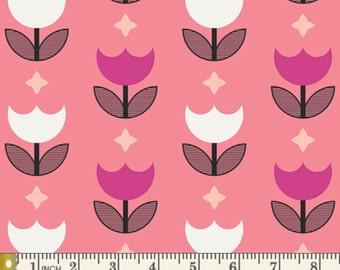 Geometric Bliss - Vertex Tulips Sweet by Jeni Baker from Art Gallery Fabrics