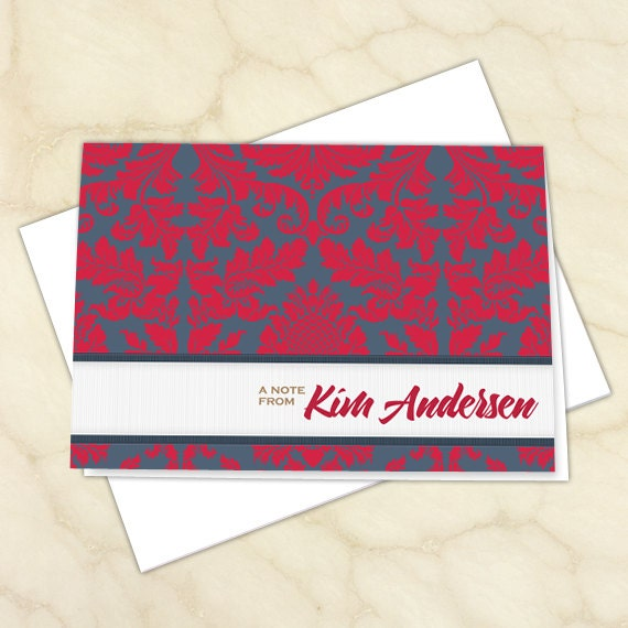 personalized notecards, thank you cards, thank you notes, graduation thank you cards, 4x6 notecards, teacher appreciation, NC130