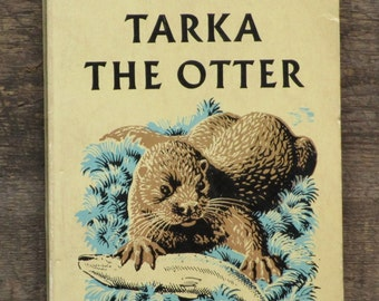 Vintage 1960s Otter old book Tarka the Otter by Henry Williamson