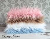 Faux Fur, Newborn Photo Prop, Photography Backdrop, Faux Fur Fabric, Newborn Props, Fur Newborn Basket Filler, Photo Backdrop
