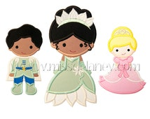 Frog Princess Applique Designs