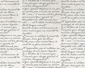 Cherie cotton fabric script writing for Art Gallery CHE- 8807