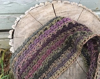 Ombre Accent Cowl Scarf  -  Six Color Choices