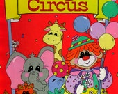 PERSONALIZED The Big Circus Children's Storybook/Clowns/Parade/Personalized just for Your Child/Train