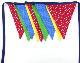 Primary Colors - Fabric Banner - Mickey Mouse Clubhouse - Sesame Street -Classroom - Circus - Nursery - Superhero - Skittles