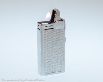 Working 1940s Miserez Excellence French Pocket Lighter