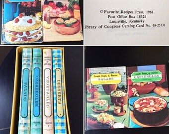 Collection of 4 Fab Retro Cookbooks!