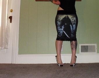 Star Wars - Kylo Ren - On A Gray Pencil Skirt