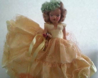 Christmas In July Sale Vintage 1930's 1940's Doll Collectible