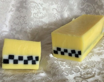 UBAR, upLYFTing soap, taxi soap, uber, lyft, taxi cab, checker cab soap