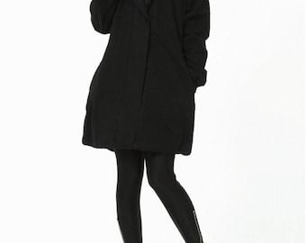 hoodie Padded Coat Women Winter black Coat