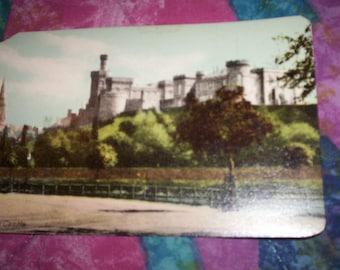 Vintage Postcard of Inverness Castle