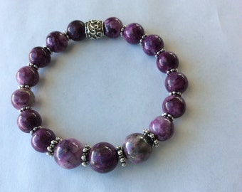Purple Sugilite Bracelet