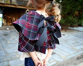 Cora Bolero or Caplet. Peter Pan Collar, 2T- 10 years, NEW, All Sizes Included