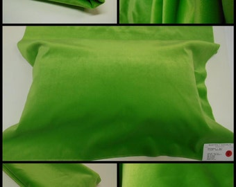Brunschwig & Fils-GDT5034-021 Villamayor-pc w26.5 inches x 55 inches-L-Velvet- -Apple Green-Luxury Fabric-Remnant Fabric -Free Shipping