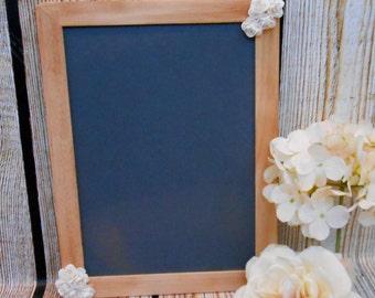 Floral Wedding Chalkboard Sign / Wedding Chalkboard Prop / Chalkboard Photo Props / Wedding Decor / Chalkboard / Wedding Sign