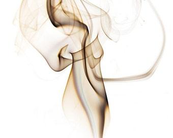 Smoke Art Photo Print or Canvas, Fine Art Print, Metallic Paper