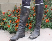 Black Knee-High Womens Equestrian boots size 8.5