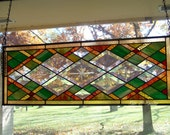 Autumn Diamond Bevel Panel
