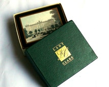 Vintage Coasters in Original Box Lady Clare Ltd Traditional English De Luxe - Look as New Never been used- Famous London Landmarks