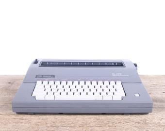 Vintage Smith Corona SL575 / Working Electric Typewriter / Vintage Typewriter / Grey Typewriter / Retro Smith Corona Typewriter / Old Decor