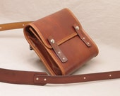 Small Messenger Bag - Light Brown