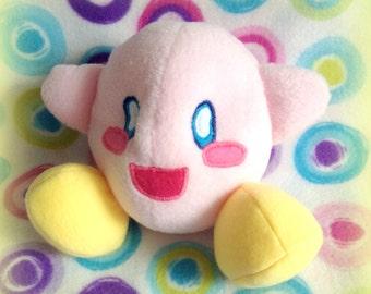 Kawaii! Soft Fleece Kirby Plush Doll (Nintendo)