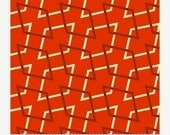 SUPER SALE Retro Geo Orange From Marcus Fabrics