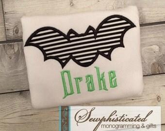 Halloween Bat Shirt - You Customize