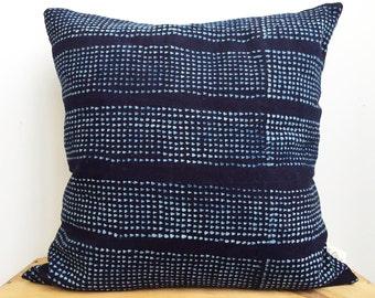 INDIGO Pebble Mudcloth Pillows (LTD Edition)