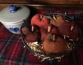 Basket O' Woolie Apples