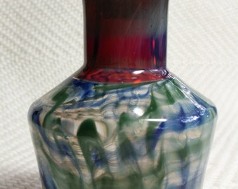 glass perfume/essential oil bottle with stopper