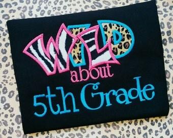 Wild about 5th grade shirt