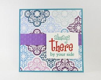 Bohemian Style, Encouragement Card, Friendship Card, Friendship, BFF, Friends, Friends Card, Just Because, Best Friends
