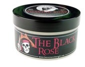 Black Rose Shaving Soap Thick protective lather that's slick with lots of cushion, Artisan shaving soap by the Beaver WoodWright