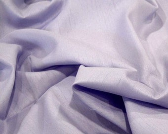 1.5+ yd x 60in wide Pale Orchid Satin-back Shantung Wedding, Doll Clothes, Purses